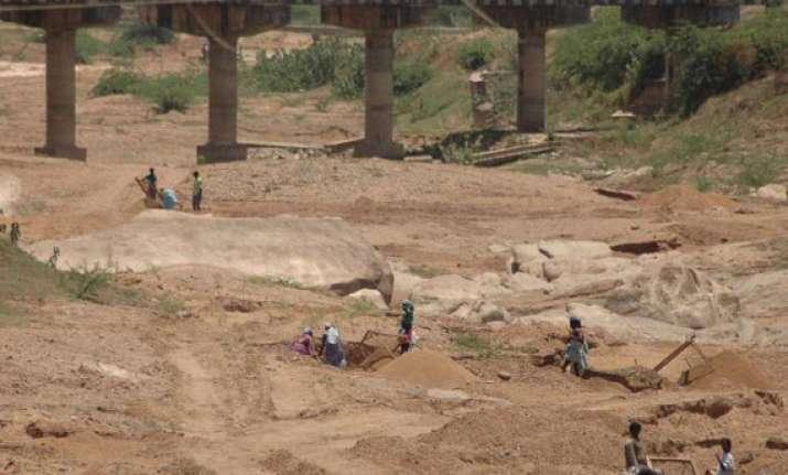 illegal sand mining rampant in up jitin prasada