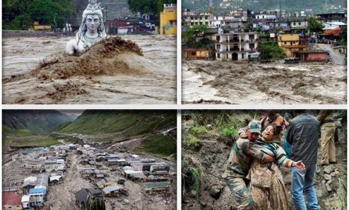 watch in pics uttarakhand devastation and rescue operations