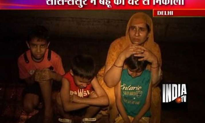 in laws in delhi throw out geeta after death of her husband