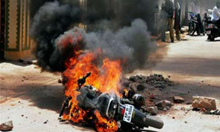 indefinite curfew continues in two areas of hyderabad