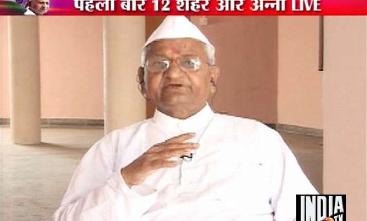 indefinite fast is the only option left says anna hazare on