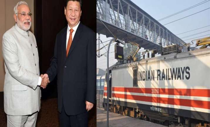 india china likely to sign mou for cooperation in railways
