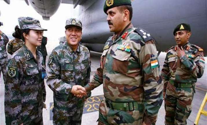 india china to hold military exercise in november