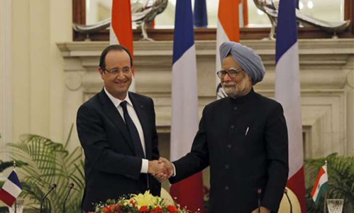 india france ink rafale deal discuss jaitapurn plant