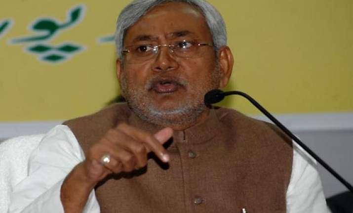 india pak dialogue must take place says nitish kumar