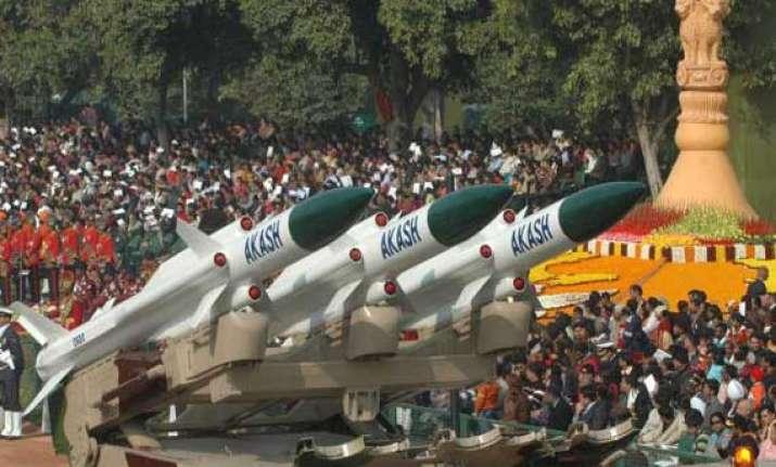 india again test fires akash missile