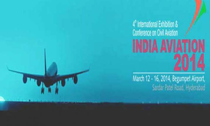 india aviation show to be held march 12 16