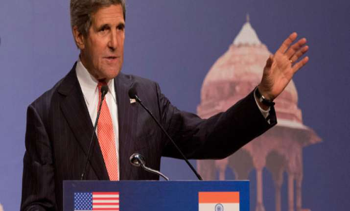 india can help afghanistan in holding free fair polls kerry