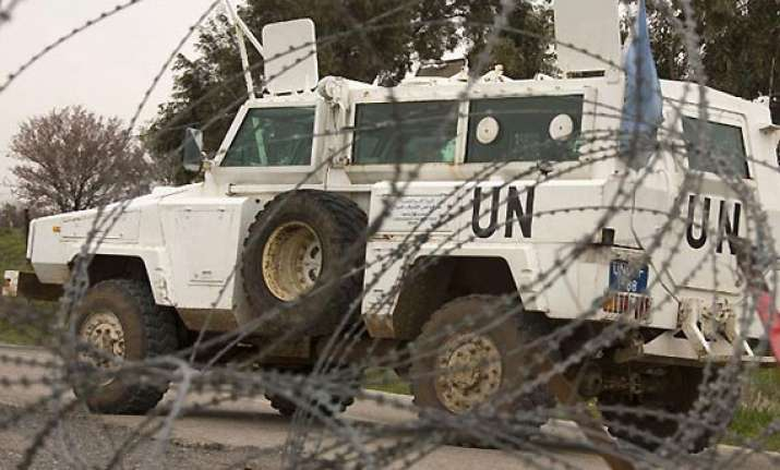 india concerned about its peacekeepers in golan heights