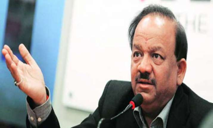 india needs more doctors than ever before says harsh vardhan