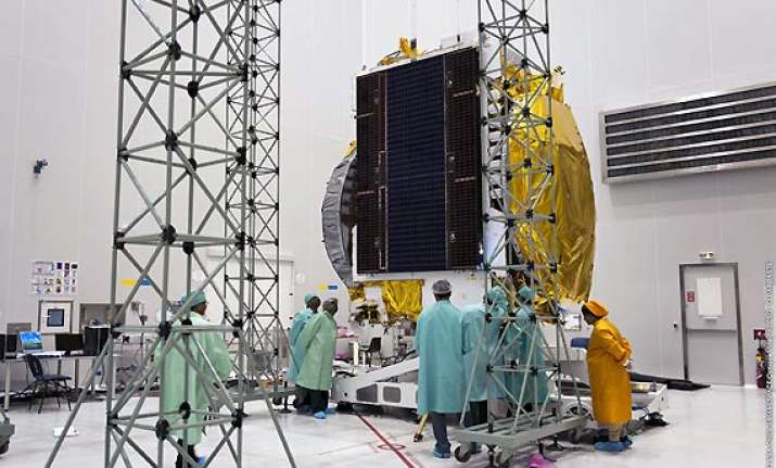 india s first defence satellite all set for launch