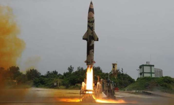 india s indigenously developed nuclear capable prithvi ii