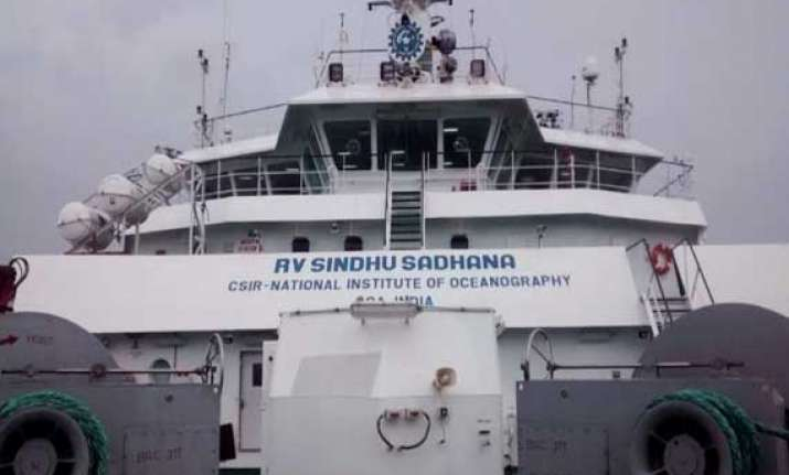 india s indigenously built research ship sindhu sadhna