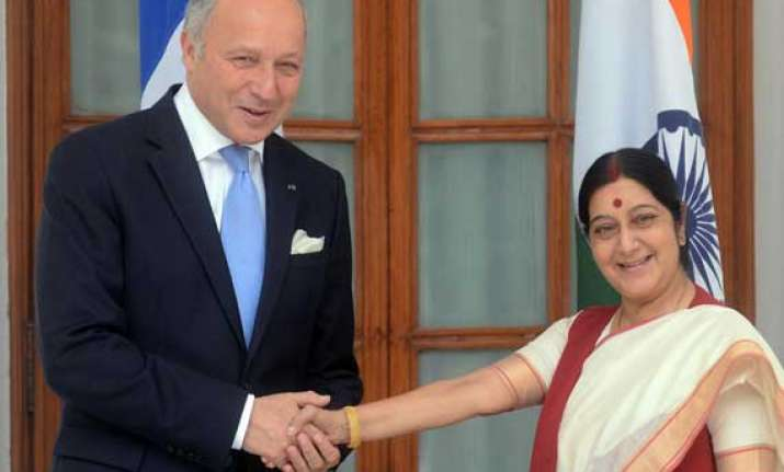 india seeks help from france for release of nationals in
