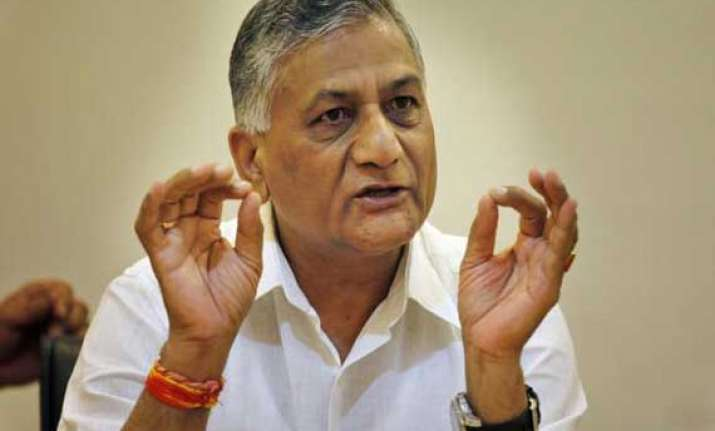 india should focus on innovation not outsourcing v k singh