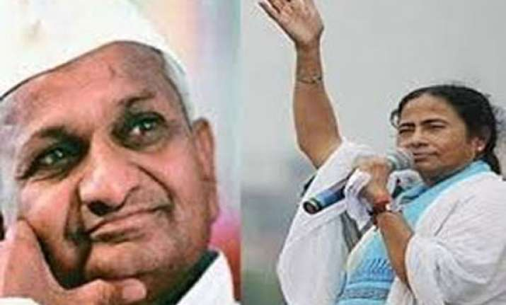 india will change if mamata at its helm says anna hazare