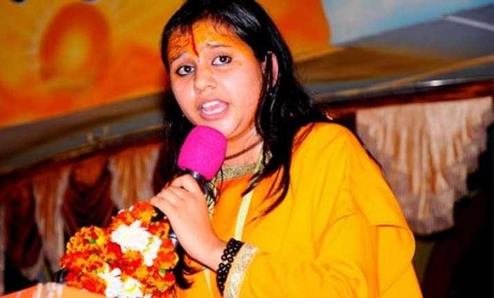 case registered against sadhvi balika saraswati