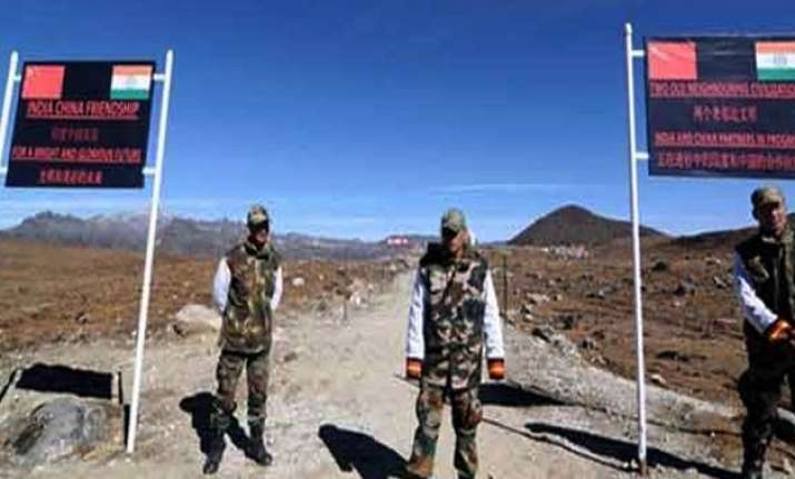 chinese military guarded on lac standoff ahead of modi s