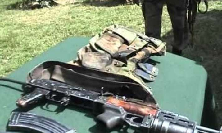 army busts hideout in reasi weapons recovered