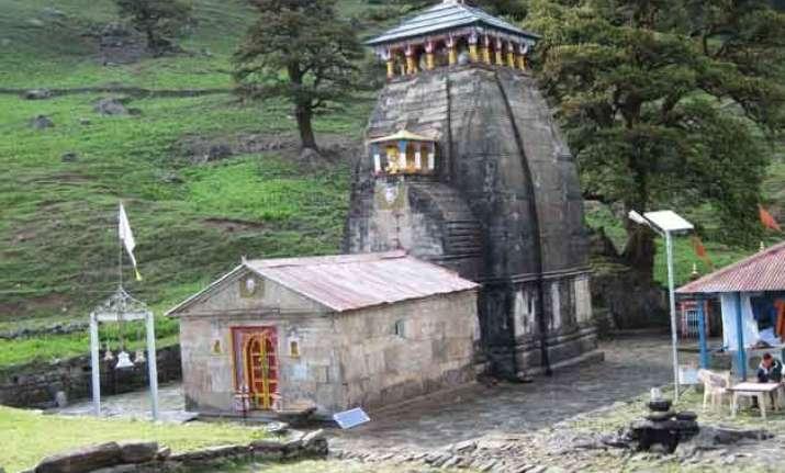 madhyamaheshwar temple doors thrown open for devotees