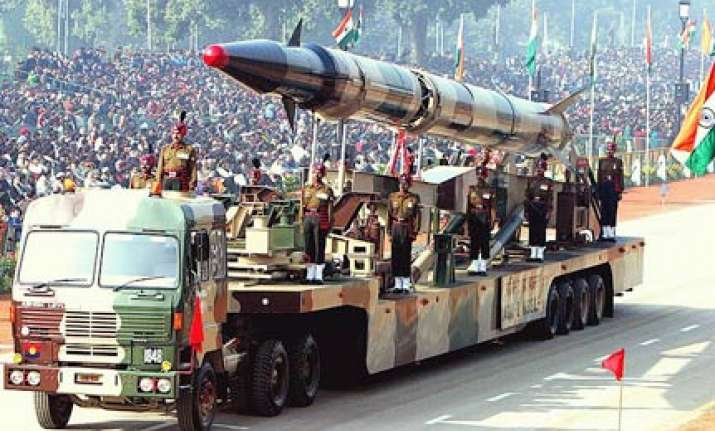 agni missiles moved to china border