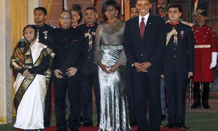 sholay s ye dosti... number for obama at prez banquet