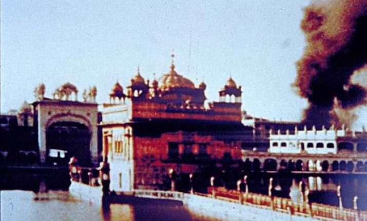 Operation Blue Star, Golden Temple, Panjab എന്നതിനുള്ള ചിത്രം