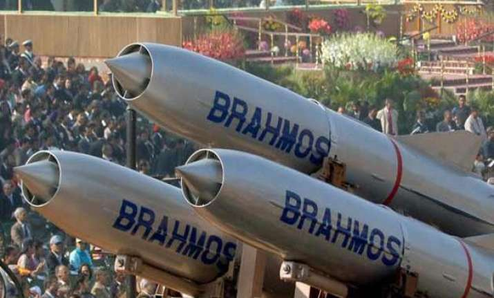 another test firing brahmos meets targets