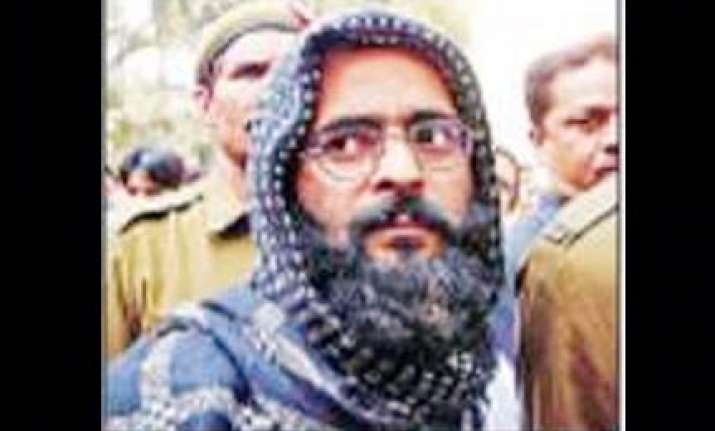death row convict afzal guru wants to go to srinagar