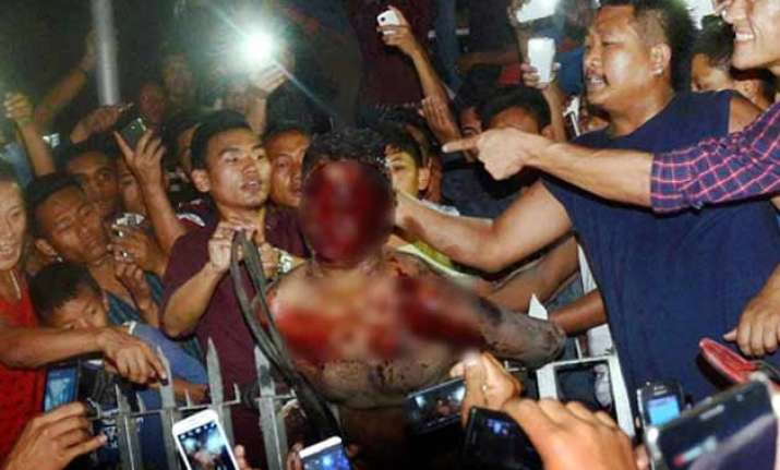 1 killed in police firing on mob in dimapur assam on high