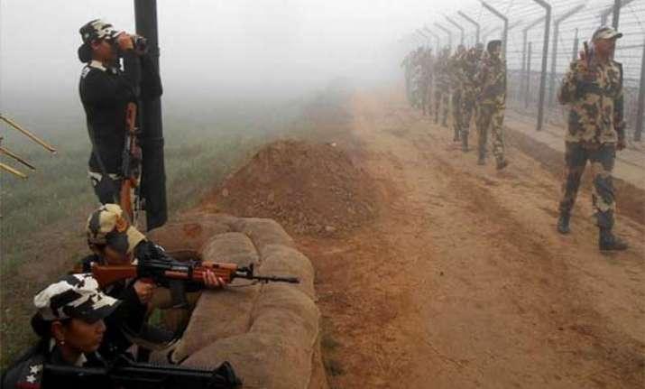 pakistani rangers violate ceasefire again target bsf bops