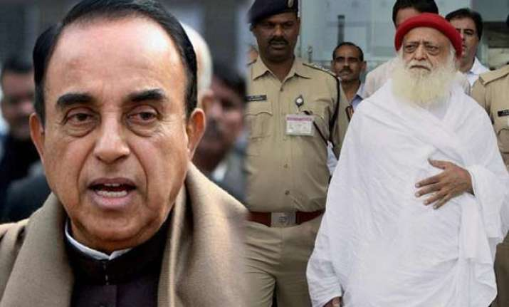 subramanian swamy to fight asaram bapu s case