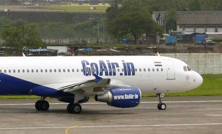 goair flight makes emergency landing in nagpur after bomb