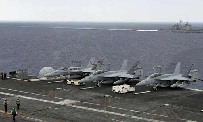 in pics india us and japan hold naval exercises under china