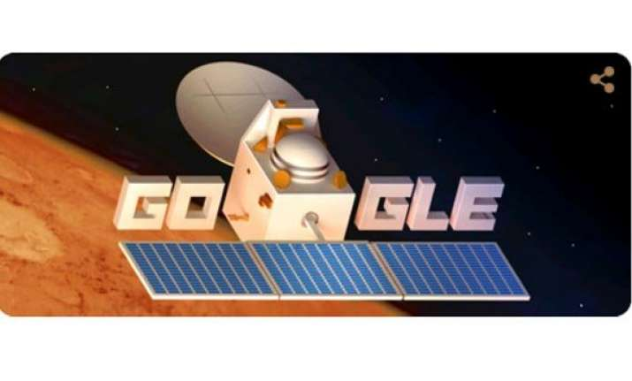google celebrates completion of mangalyaan s 1 month in