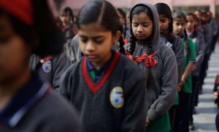 peshawar attack schools across india observe 2 minute