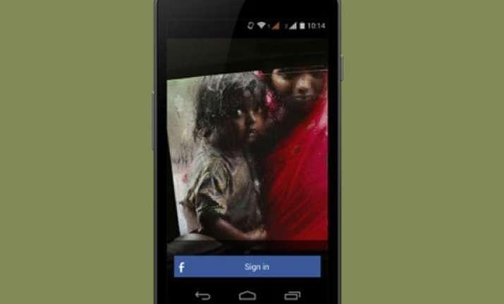 now an app for missing children