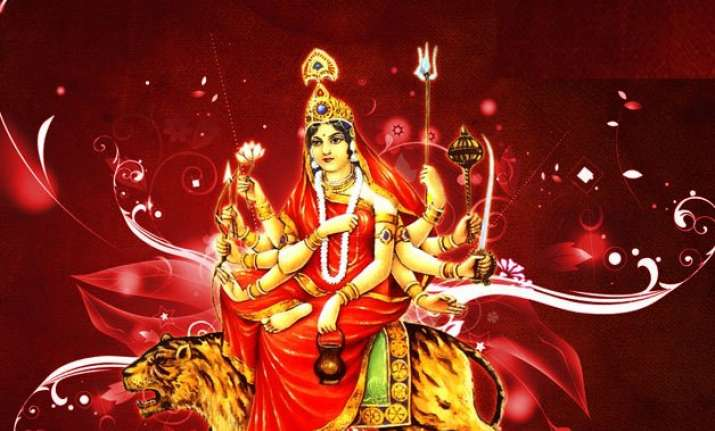 navratri day 3 mantra puja color and food