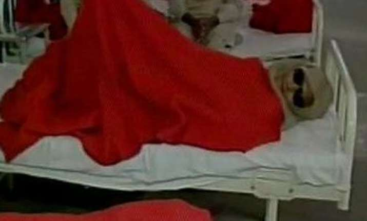 60 patients lose vision after operation at eye camp in