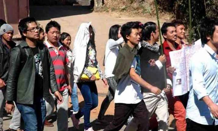 aapsu criticises china for objection to arunachal road