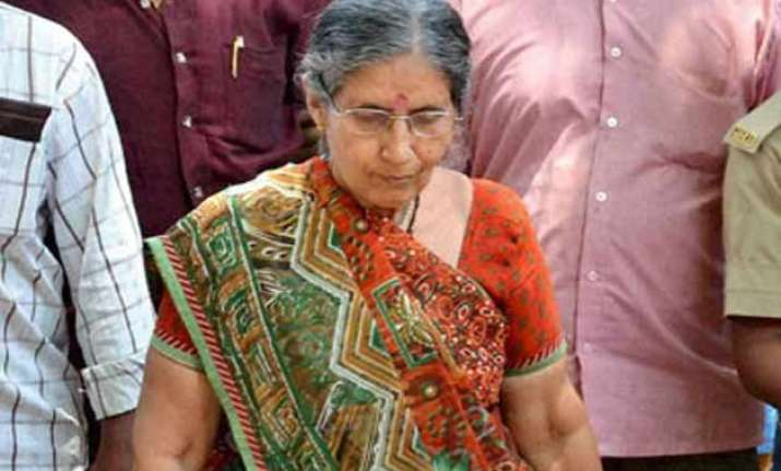 jashodaben files second rti appeal on her security cover