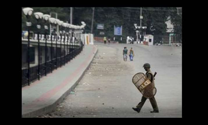 kashmir breathes easy on friday one injured in protest