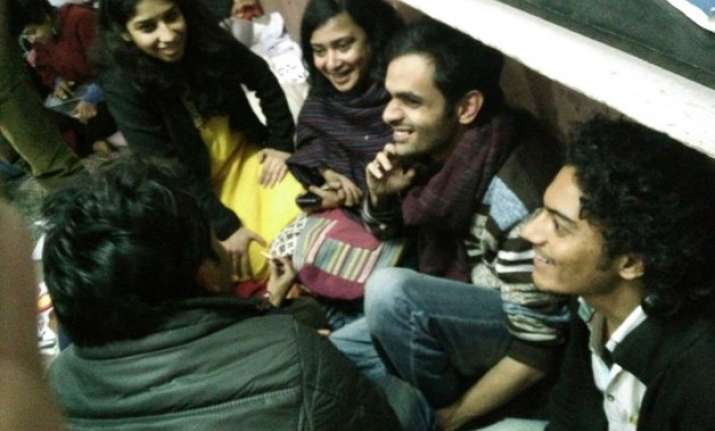 5 absconding jnu students return say they feared mob