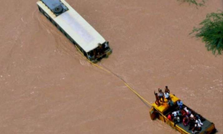 more than 1 500 people evacuated in flood hit gujarat