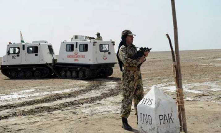 pakistani national held at kutch border by bsf