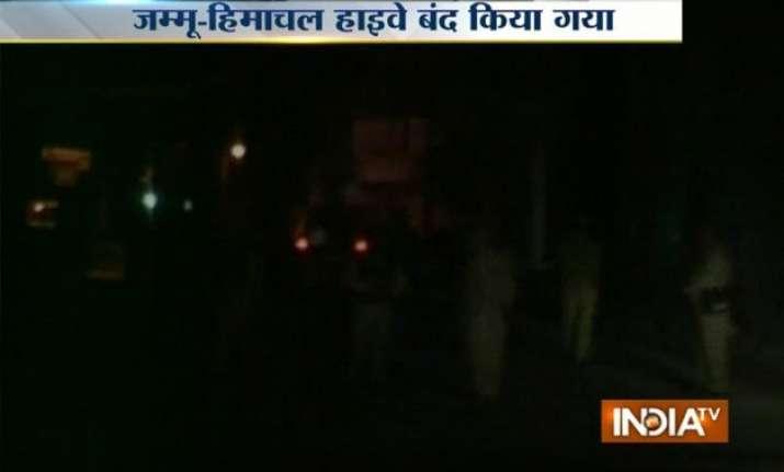 high alert on pathankote jammu highway after punjab terror