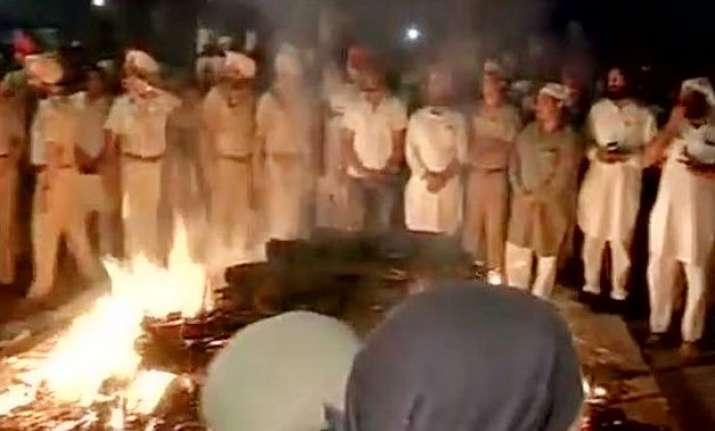 moga molestation victim s body cremated after autopsy