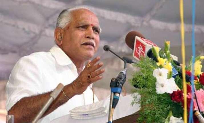 yeddyurappa govt seeks judicial probe into land scams