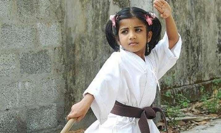 judo karate training for up girls