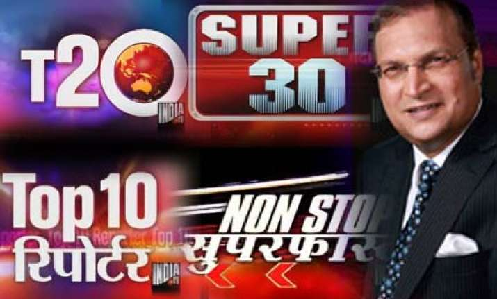 india tv zooms to no 1 among all indian news channels